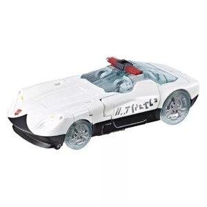 Image 2 - Siege War For Cybertron Delux Class Prowl Robot samochodowy klasyczne zabawki dla chłopców kolekcja figurka