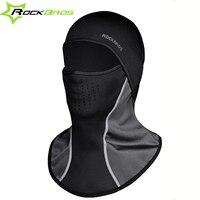 RockBros Winter Cycling Cap Ski Face Mask Thermal Fleece Windproof Gorra Ciclismo Anti Pilling Neck Warmer