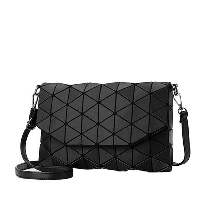 Dropshipping Matte Designer Women Evening Bag Shoulder Bags Girls Flap Handbag Fashion Geometric Casual Clutch Messenger Bag