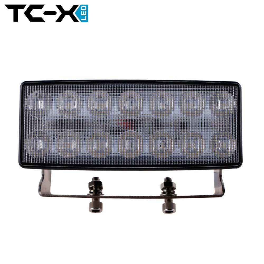TC-X 42W LED Work Light for John Deere Tractor Jeep 10V to 30V Indicators Driving Offroad Boat Car Tractor Truck SUV ATV Flood