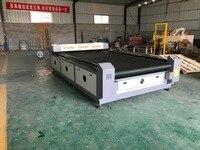 Автомат для резки лазера 1810 100 W поставщика золота Автоматический подавая для резца лазера ткани кожаного