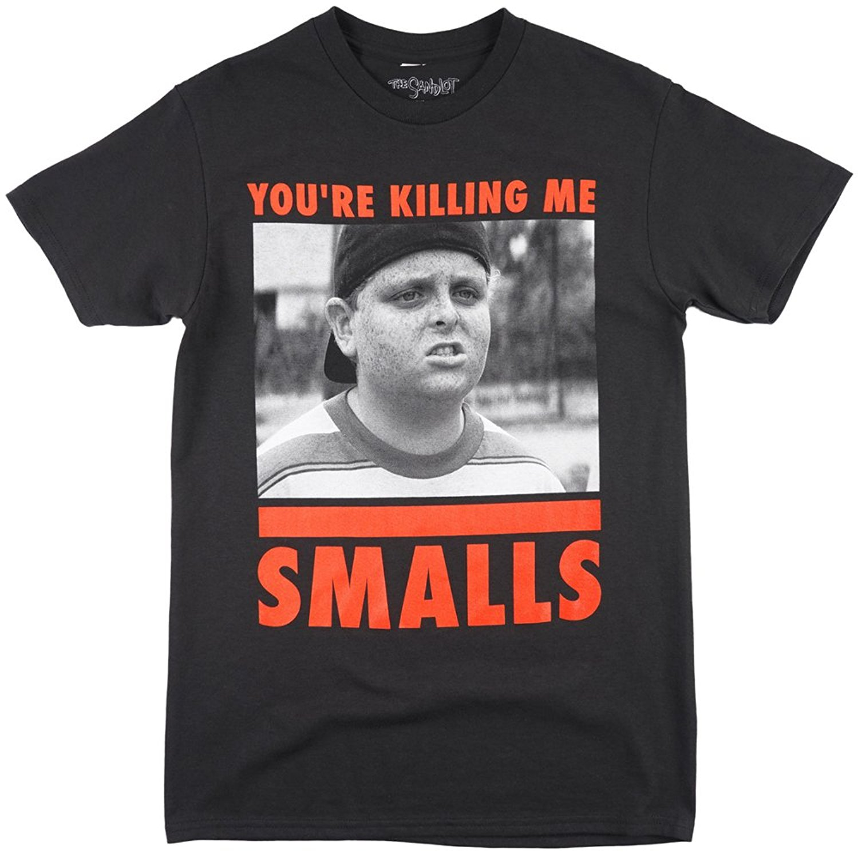13531913 2017 Hot Sale New T Shirt Men's Short The Sandlot You're Killing Me Smalls  Men's T-Shirt in Black. S-2XL.