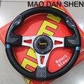 2016 hot new momo steering wheel / sports steering wheel / steering wheel racing 13 inches Universal / Super feel multicolor