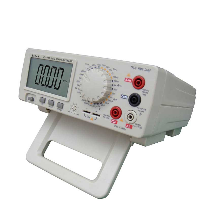 HIgh precison  Digital Multimeter Bench Top 4 1/2 True RMS DCV/ACV/DCA/ACA DKTD0122 precision desktop multimeter Vici VC8045 2 0122 2