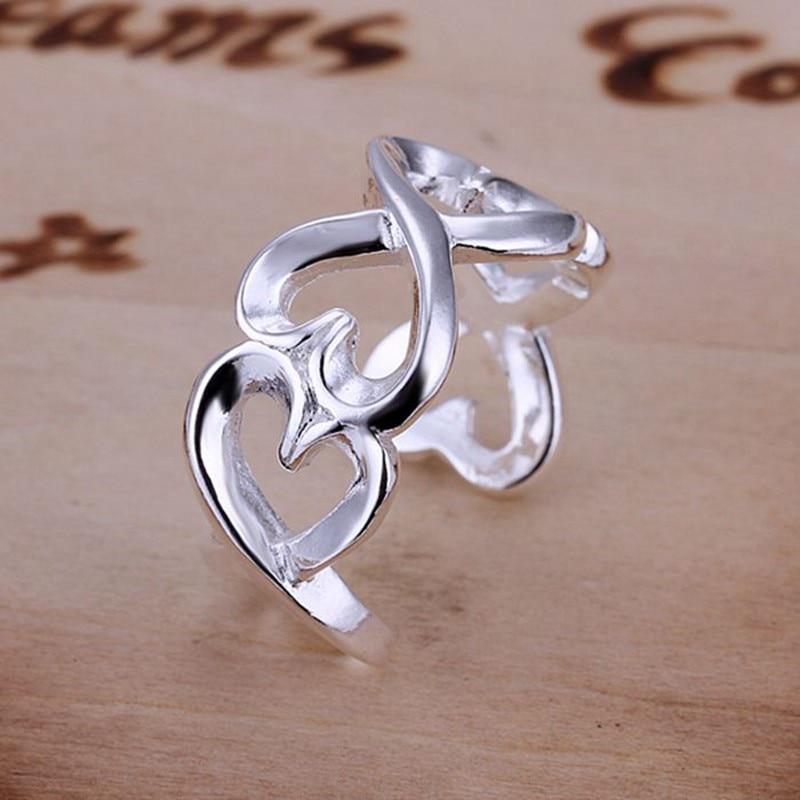 46fc72a7ff5 Anel de prata anel de prata jóias de preços aberto   XAVUAMLW KECPNBSV