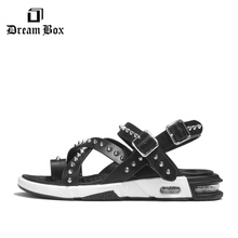 Mens Sandals New Wild Fashion Summer Korean Version Of The Trend Leather Cushions Vietnamese
