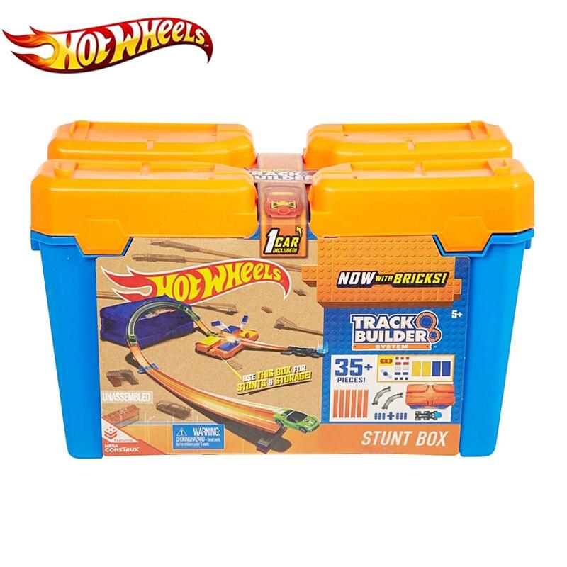 Rrotat e makinave të rrotave të nxehta të vendosura Kuti plastike - Makina lodër për fëmije - Foto 6