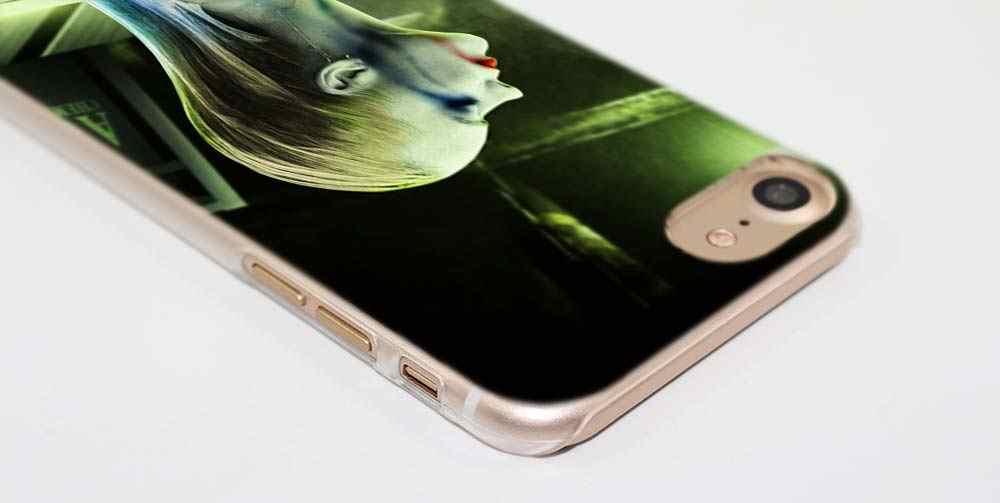 電話ケース iphone XS 最大 XR x または 10 6 6 s 7 8 プラス 5 s 、 se 5 4 s 4 5c ハードクリア PC Coque キャパカバーポーカーナイトジョーカーハーレークイン