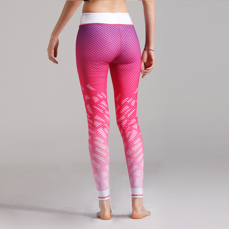 94c62cd7d435f1 New Arrival Pink Yoga Pants For Women Compression Running Tights Woman  Trousers Yoga Leggings Woman Sport Leggins Gym Pants-in Yoga Pants from  Sports ...