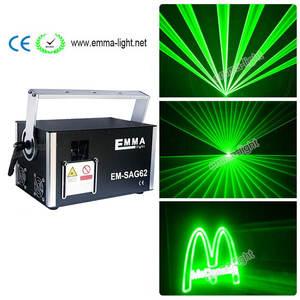 Best laser light 2 watt brands 2018 2 w 2 watt dj lighting equipment green single color outdoor laser 3d animation aloadofball Gallery