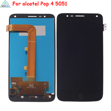 Mobile Phone LCDs For Alcatel Pop 4 LCD Screen Display Highscreen Phone Parts For Alcatel One Touch Pop 4 5051X 5051D 5051J