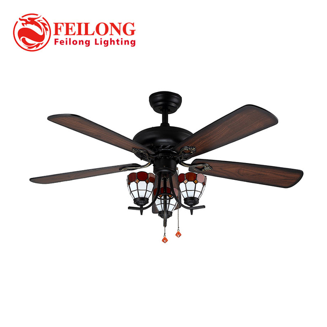 Decorative wood blades ceiling fan 5218 b red church glass shades decorative wood blades ceiling fan 5218 b red church glass shades ceiling fan with light aloadofball Images