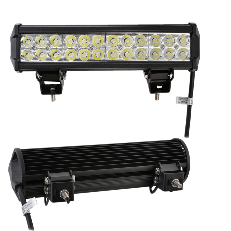 1 հատ 12 դյույմ 5700LM 72W LED թեթև բար Offroad - Ավտոմեքենայի լույսեր - Լուսանկար 5
