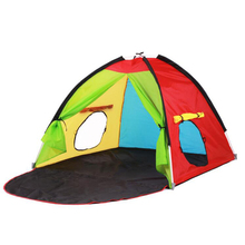 New Arrival One Bedroom Kids Play Tent Large Space Children Tent Child Toy Tents Kids Game House Four Season Tent