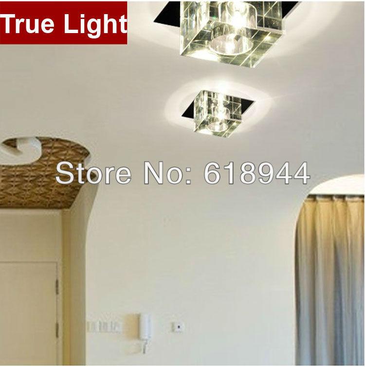 Hot Selling K9 Crystal Indoor Ceiling Lighting Fixture, Led Ceiling Lights for Dinning Room/ Living Room/ Bedroom/ Kitchen