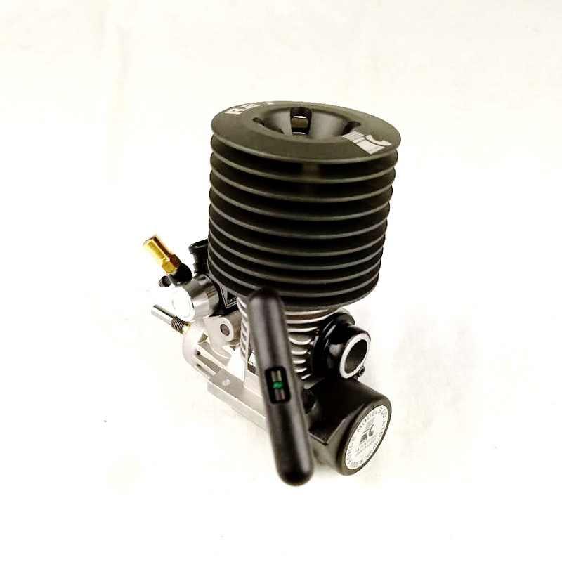 Бесплатная доставка Force.21 Тяговый стартер (задний выхлоп) нитро двигатель для 1/8 масштаб rc Nitro buggy/truggy/грузовик, Fit Nitro power rc автомобиль
