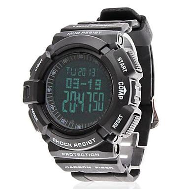 aliexpress com buy men s air pressure multi functional black men s air pressure multi functional black rubber band digital wrist watch