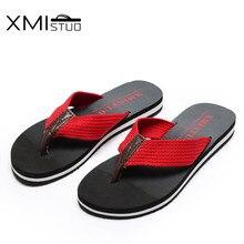 Xmistuo Лето Сандалии для женщин Нескользящие тапочки для отдыха Мужские тапочки пляжные сандалии пара снаружи Туфли без каблуков вьетнамки