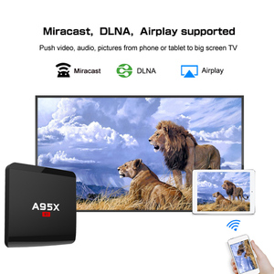 Image 4 - Smart android TV Box A95X R1 2G 16GB Android 7.1 box tv 2.4G WiFi lecteur multimédia smart tv box