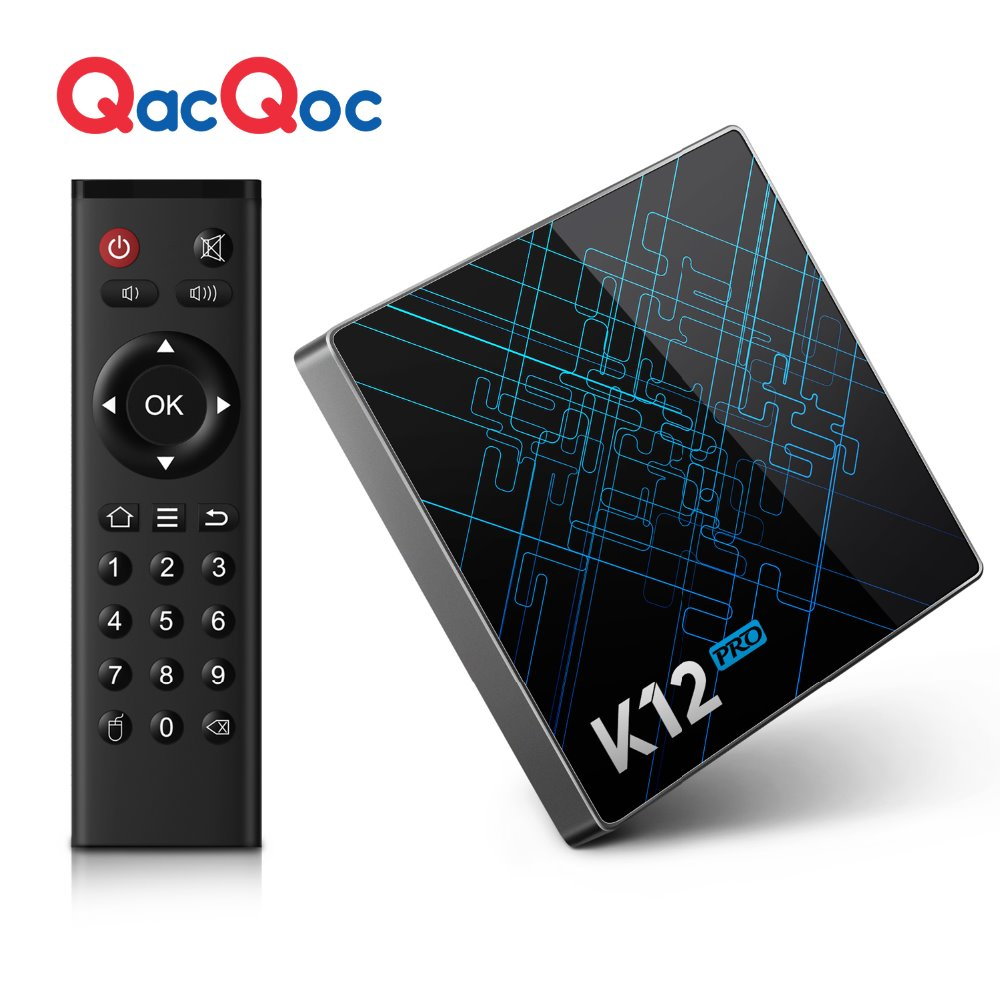 QacQoc S912 K12 Pro Android 6.0 TV Box Amlogic 2 GB/32 GB Gigabit LAN Dual-Band