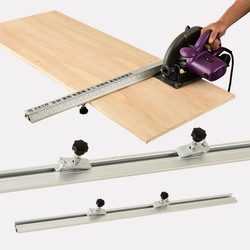 Free shipping Electric Circular Saw Cutting Machine Guide Foot Ruler Guide Three-in-one 45 Degrees Chamfer Fixture