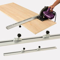 Free Shipping Electric Circular Saw Cutting Machine Guide Foot Ruler Guide Three In One 45 Degrees