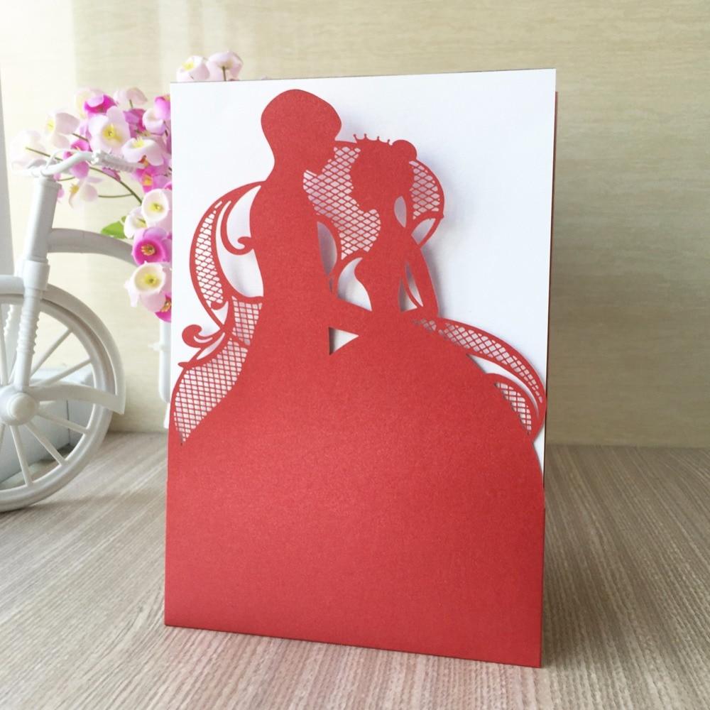 50pcs Laser Cut Royal Romantic Shiny Pearl Paper Wedding Decotation ...
