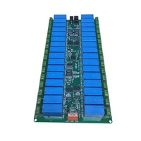 Intelligent Control of Relay Output Board of 32 Relays Controlled by 485 Bus and 16A Relay in Pure Chinese Language Programming