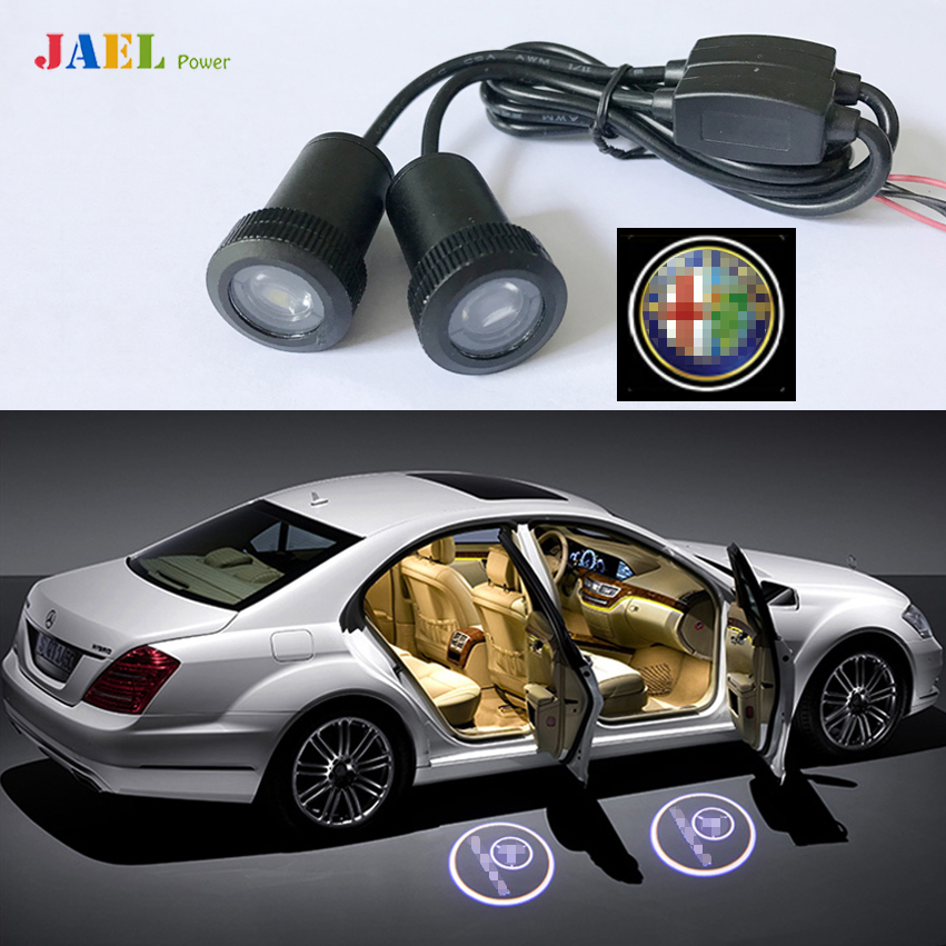 2PCs Door Ghost Shadow Light Case For ALFA ROMEO Courtesy Laser Projector Puddle lights