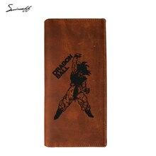 Dragon Ball Z Wallet Goku Long Purse Leather phone Wallet Case (15 styles)