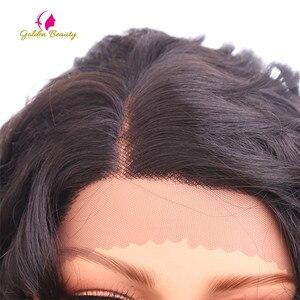 Image 5 - Perruque Lace Front Wig bouclée noire Golden Beauty