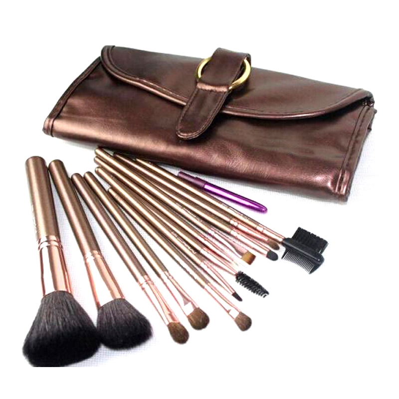 Pro 24Pcs Makeup Brushes Set MC Beauty Make Up Brushes Foundation Powder Blush Eyeshadow Eyeliner Lip Brushes Pincel Maquiagem 8pcs rose gold makeup brushes eye shadow powder blush foundation brush 2pc sponge puff make up brushes pincel maquiagem cosmetic