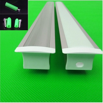 5-30pcs/lot 40inch 1m long W32*H20.5mm led built in channel, embedded aluminum profile for double row 20mm led strip