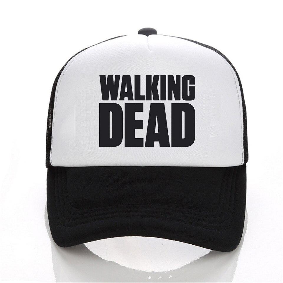 Prix pour AMC Scénariste The Walking Dead Rick Daryl Glenn Carl Maggie Carol broderie noir coton baseball caps chapeau pour adulte hommes femmes