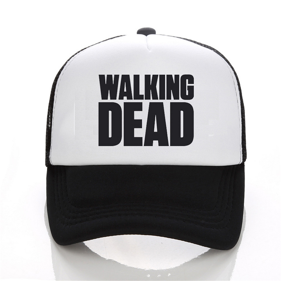 AMC Teleplay The Walking Dead Rick Daryl Glenn Carl Maggie Carol embroidery black cotton baseball caps hat for adult men women худи print bar the walking dead