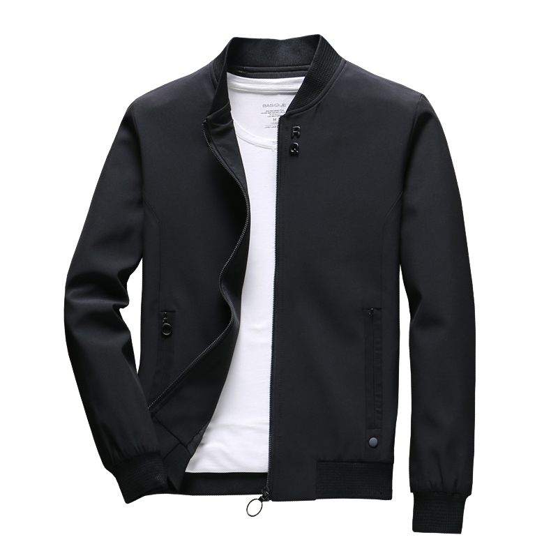 COMLION Mens Spring Jackets and Coats Solid Color Casual Jacket Men Hot Sale Jacket Jaqueta Masculina Asian Size Slim Fit C34-in Jackets from Men's Clothing