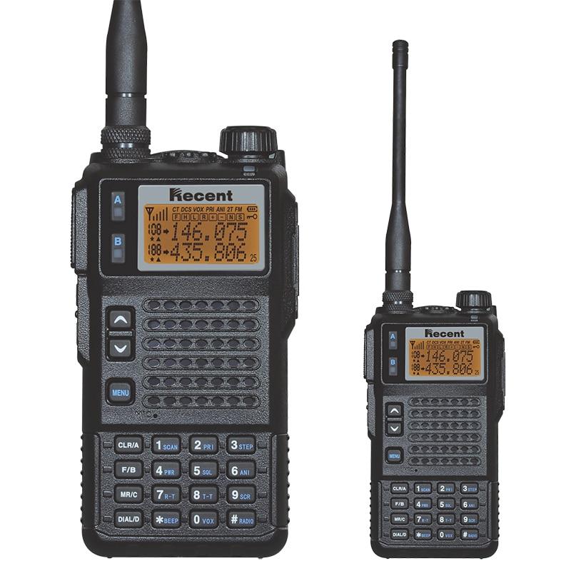 10W Tri-banda profesional Walkie Talkie TS689 5-10 km 200 canales Radio de dos vías 136-174MHz y 350-400MHz y 400-470MHz