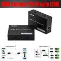 Сверхдальние 120 М HDMI удлинитель С ИК по cat5e/6 TCP/IP Один-ко-многим HDMI extender (только приемник)