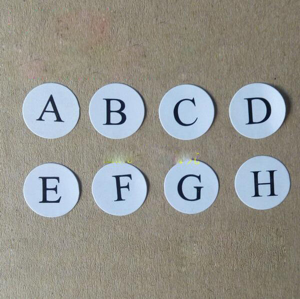 Alphabet stickers 1 2 cm round sticker label the abcd letters in stationery sticker from office school supplies on aliexpress com alibaba group