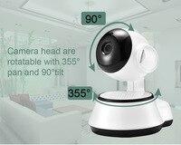 HD 720P IP Camera Wifi Camera Wireless P2P Security Surveillance Camera Night Vision IR Robot Baby