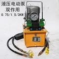 1.5KW 30L Double action Elektrische hochdruck hydraulische pumpe mit sowohl schlauch baugruppen-in Hydraulikwerkzeuge aus Werkzeug bei