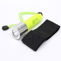 1800LM Band XML-T6 LED Lanttern Waterproof underwater scuba Dive Diving 18650 Flashlight Dive Torch light lamp for diving