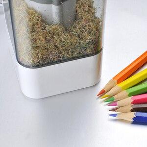 Image 2 - Kinderen Automatische Elektrische Puntenslijper Creatieve Puntenslijper Voor Home School Office Desktop Briefpapier Items