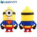 Leizhan usb flash drive minion super hero man bat 4g 8g 16g 32g Pen Drive Memory Stick Pendrive tarjeta de memoria flash usb del disco de u