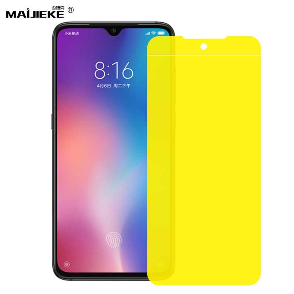 Full Coverage For Xiaomi Pocophone F2 F1 Mi play Mi 9 8 SE lite Pro Screen Protector Nano Film for Redmi Note 6 7 Pro Hydrogel