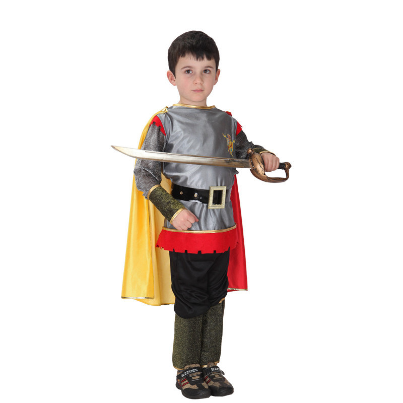 childrens halloween costume prince charming dress cos costume armor warrior clothes hallowmas party costume b 2952 in boys costumes from novelty special - Prince Charming Halloween Costumes