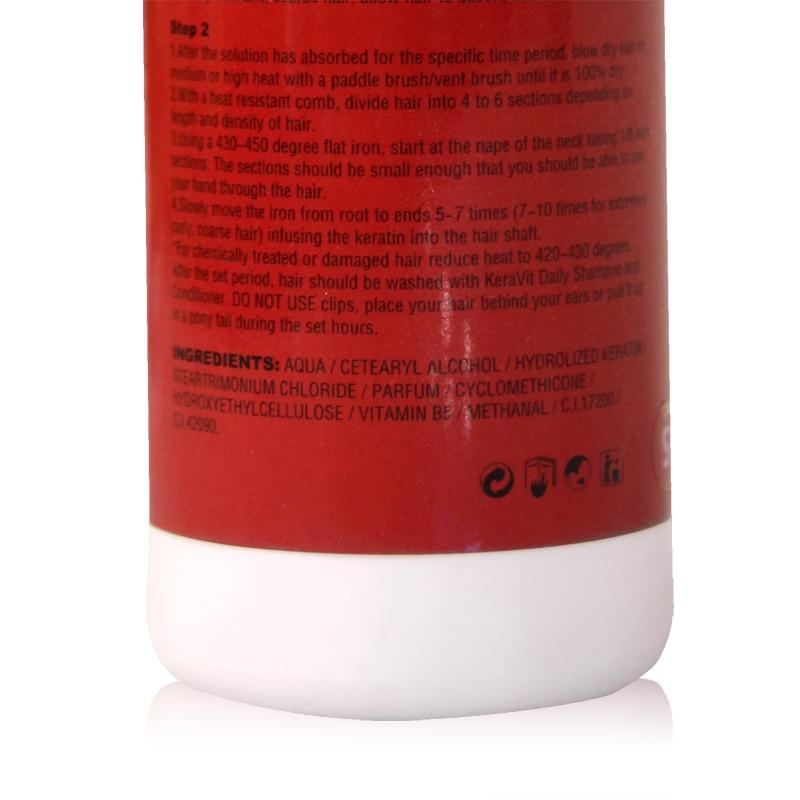 Kera Vit Traitement à la kératine des cheveux Réparation - Soin des cheveux et coiffage - Photo 3