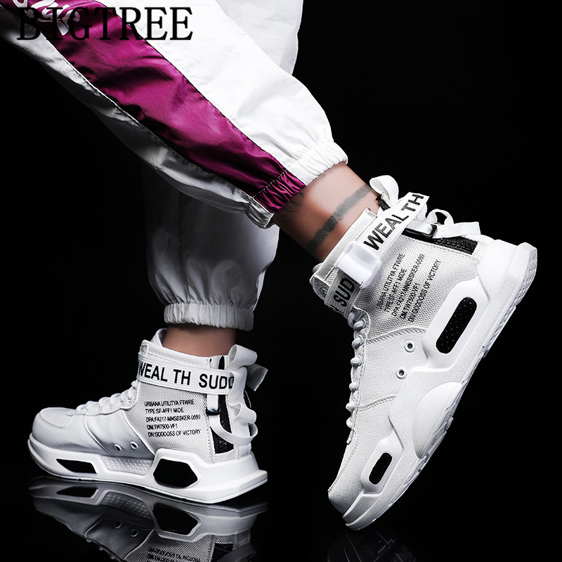 High Top Sneakers Unisex Hip Hop Shoes Casual Shoes Men Leather Designer Shoes Men High Quality Zapatos De Mujer Tenis Feminino