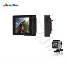 Аксессуары Anordsem, ЖК дисплей Bacpac для Go pro Hero 3 +/4, внешний экран для Gopro Hero 3, крепление для спортивной камеры