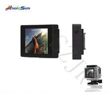ملحقات Anordsem شاشة عرض LCD Bacpac لـ Go pro Hero 3 +/4 شاشة خارجية لكاميرا Gopro Hero 3 الرياضية